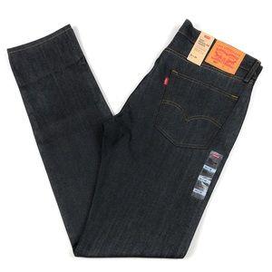 Levis 502 Reg Taper Rigid Dark Blue Jeans 36x38